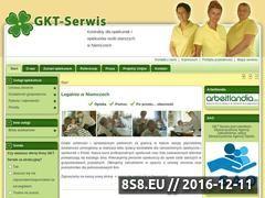 Miniaturka domeny www.gkt-serwis.pl