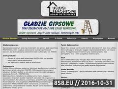Miniaturka domeny www.gladziegipsowe.com.pl