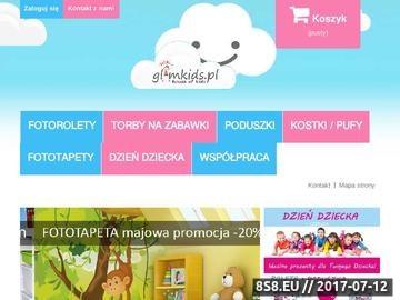 Zrzut strony Fotorolety dla dzieci