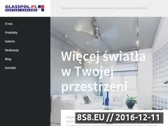 Miniaturka domeny www.glasspol.pl