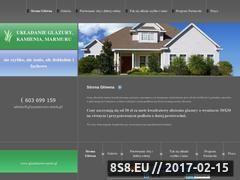 Miniaturka domeny www.glazurnictwo.strefa.pl