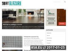 Miniaturka domeny www.glazury.com.pl