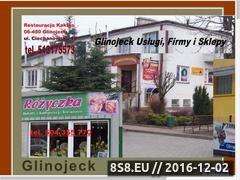 Miniaturka domeny www.glinojeck.biz