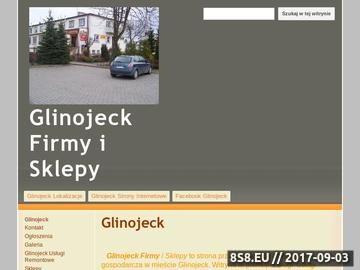 Zrzut strony Glinojeck