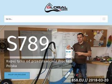 Zrzut strony Global-clean.pl
