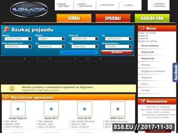 Zrzut strony Ogłoszenia samochodowe,moto anonse-globalauto.pl