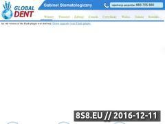 Miniaturka domeny www.globaldent.pl