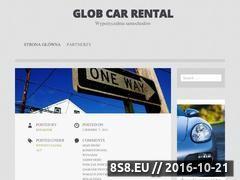 Miniaturka domeny www.globcarrental.pl