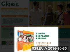 Miniaturka domeny www.glossa.pl