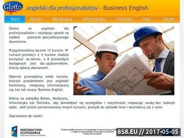 Zrzut strony Business English