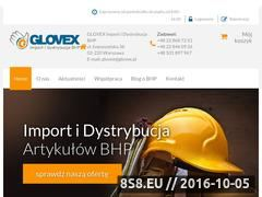 Miniaturka domeny glovex.com.pl