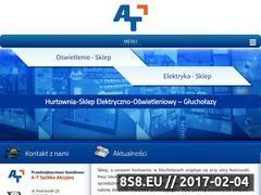 Miniaturka domeny www.glucholazy-atat.pl