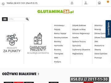 Zrzut strony Sklep z odżywkami Glutamina24