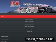 Miniaturka domeny www.gm-auto.pl