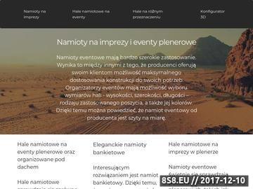 Zrzut strony Tworzenie i projektowanie stron internetowych Olsztyn