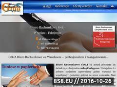 Miniaturka domeny goja.biz.pl