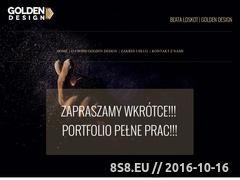 Miniaturka domeny www.goldendesign.pl