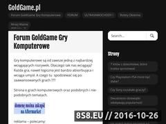 Miniaturka domeny www.goldgame.pl
