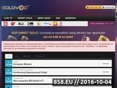 Miniaturka domeny goldvod.tv