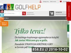 Miniaturka domeny www.golfhelp.pl