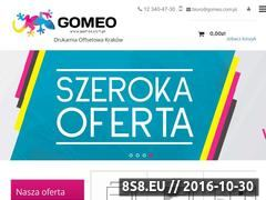 Miniaturka domeny www.gomeo.com.pl