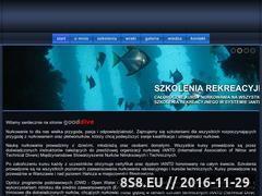 Miniaturka domeny www.gooddive.pl
