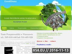 Miniaturka domeny gooddone.pl