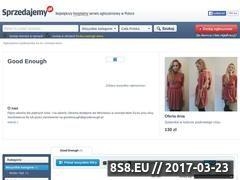 Miniaturka domeny goodenough.sprzedajemy.pl