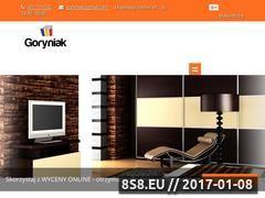 Miniaturka domeny www.goryniak.pl