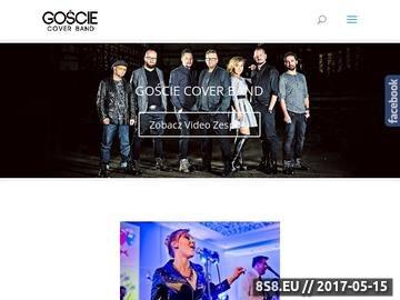 Zrzut strony Zespół muzyczny na wesele GOŚCIE Cover Band, muzyka na imprezę firmową, event
