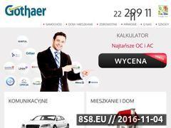 Miniaturka domeny gothaer.net.pl