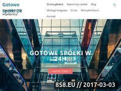 Miniaturka domeny gotowe-spolki-24.pl