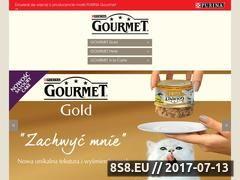 Miniaturka domeny www.gourmet-kot.pl