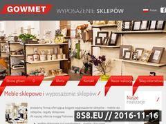 Miniaturka domeny www.gowmet.pl