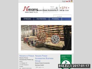 Zrzut strony GPH SP. Z O.O. narzędzia izolowane