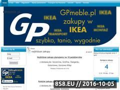 Miniaturka domeny www.gpmeble.pl