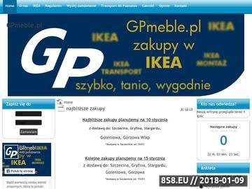 Zrzut strony Transport mebli Ikea Szczecin - GPmeble