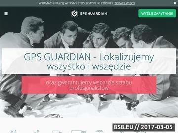 Zrzut strony Monitorowanie i lokalizowanie przy pomocy GPS