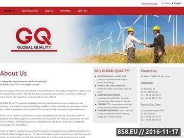 Zrzut strony Audyt IFS - Global Quality