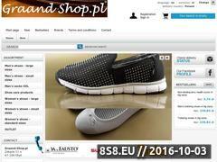 Miniaturka Buty damskie i męskie, małe i duże rozmiary (graand-shop.pl)
