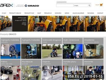 Zrzut strony Graco-Apex - agregaty malarskie