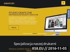 Miniaturka Drukarnia internetowa - projekt graficzny online i tani druk cyfrowy (www.grafcraft.pl)
