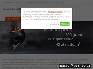 Zrzut strony Drukarnia wielkoformatowa Poznań, wydruki wielkoformatowe Poznań, banery, plakat