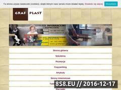 Miniaturka domeny www.grafplast.pl