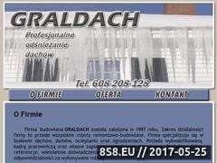 Miniaturka domeny www.graldach.pl