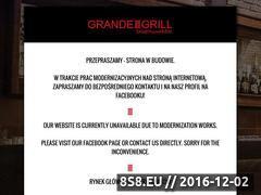 Miniaturka domeny www.grandegrill.pl