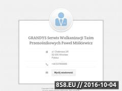 Miniaturka domeny grandys-tasmy.pl