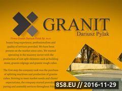 Miniaturka domeny granit-pylak.pl