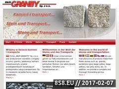 Miniaturka B&M Granity - wyroby z granitu, usługi transportowe (www.granity.pl)
