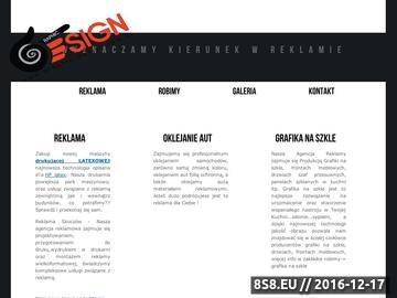 Zrzut strony Agencja reklamowa Skoczów Graphic Design - oklejanie aut